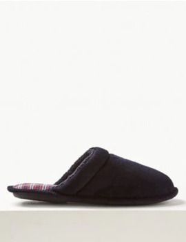 Slip On Mule Slippers With Thinsulate™ by Marks & Spencer