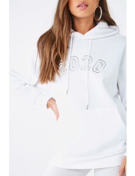 2020 Graphic Hoodie by Forever 21