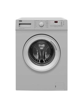 Wtg641 M1 S 6 Kg 1400 Spin Washing Machine   Silver by Currys