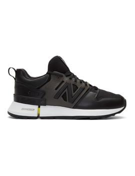 Black New Balance Edition Msrc 2 Sneakers by Comme Des GarÇons Homme