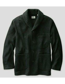 Uniqlo Engineered Garments Shawl Collar Fleece Jacket Navy Blue Heather Xs  2 Xl by Uniqlo Engineered Garments