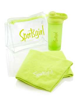 Work It Out Gym Set   Citrine by Sportsgirl
