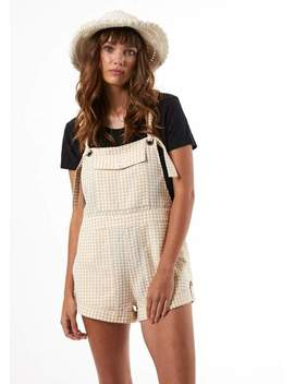 Gingham Overalls by Afends