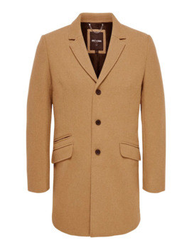 Mantel 'julian Solid Wool Coat' by Only & Sons