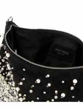 Callie Pearl Embroidered Clutch by Jimmy Choo