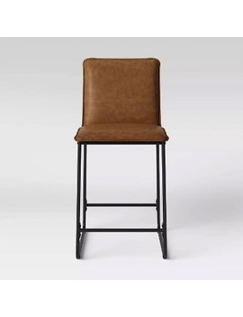 Upholstered Counter Stool With Metal Frame   Room Essentials™ by Room Essentials