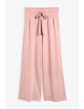 Cupro Wide Leg Pants by Next