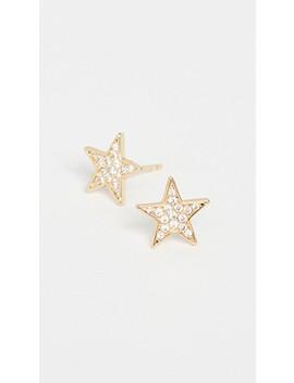 Super Star Shimmer Studs by Gorjana