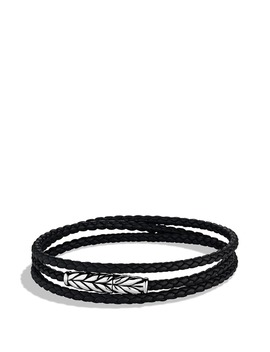 'chevron' Triple Wrap Bracelet by David Yurman