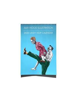 2020 Lindy Hop/Swing Dance Wandkalender, Monatskalender, Illustration, Weihnachtsgeschenk, Monatsplaner by Etsy