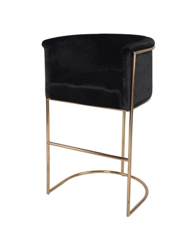 Colm Glam Bar Stool, Multiple Colors by New Pacific Direct