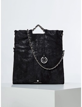 Spice Luxe Genuine Leather Shopper by Guess