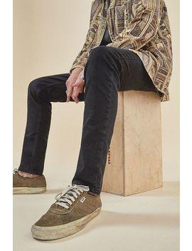Bdg Reed Solid Black Skinny Jeans by Bdg