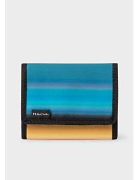 Men's 'horizon' Stripe Tri Fold Wallet by Paul Smith