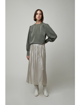 Pleated Skirt 4501 by Oak + Fort