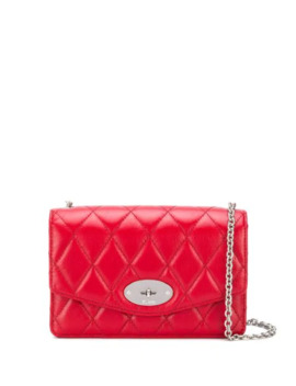 Darley Quilted Small Shoulder Bag by Mulberry