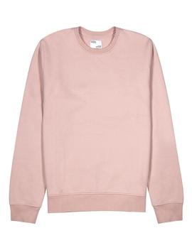 Light Pink Cotton Sweatshirt by Colorful Standard