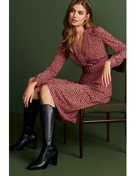 Jersey Belted Midi Dress by Next