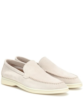 Lady Summer Walk Suede Loafer by Loro Piana