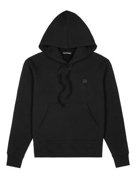 Black Cotton Jersey Sweatshirt by Acne Studios