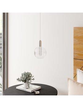 Sipos 1 Light Led Single Globe Pendant by Allmodern