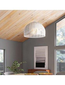 Delmore 1 Light Single Dome Pendant by Allmodern