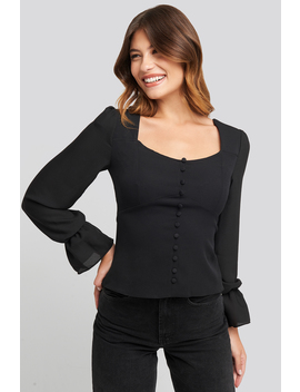 Back Knot Sleeve Detailed Blouse Sort by Trendyol