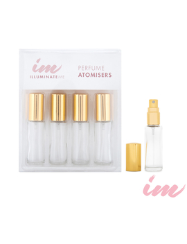 Illuminate Me Perfume Atomiser 4pk by Illuminate Me