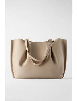 Sac Shopper Soft CloutÉ by Zara