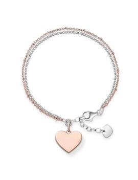 Love Bridge Engravable Heart Bracelet by Thomas Sabo