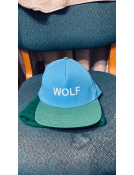Wolf Album Cover Hat Tyler The Creator Rare 2013 Golf Wang by Golf Wang  ×  Tyler The Creator  ×