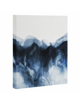 'indigo Abstract Watercolor' Print by Joss & Main