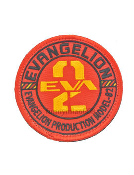 Eva Production Model 02 Cosplay Patch Badge Neon Genesis Evangelion Appliques by Unbranded/Generic