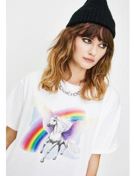 Unicorn Graphic Tee by Only Friend