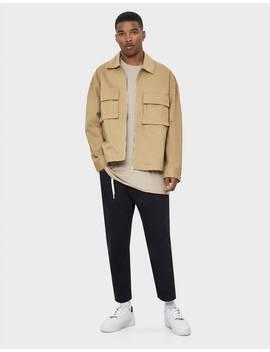 Workwear Jacke Aus Baumwolle by Bershka