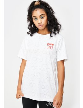 X Hello Kitty Aop Graphic Tee by Puma
