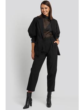 Oversized Suit Pants Black by Nakdclassic