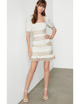 Puff Sleeve Mini Dress by Bcbgmaxazria