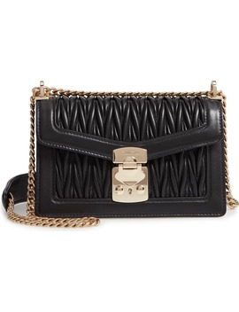 Matelassé Leather Crossbody Bag by Miu Miu