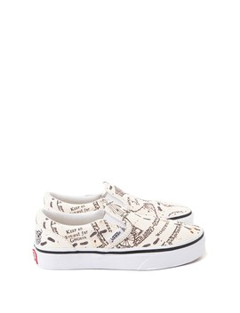 Vans X Harry Potter Slip On Marauder's Map Skate Shoe   Little Kid / Big Kid   Multi by Vans