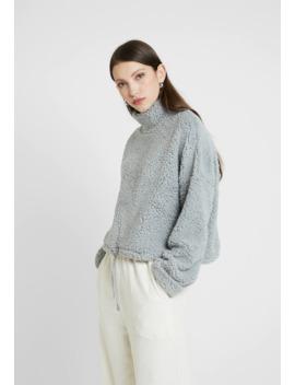 Funnel Neck Teddy   Sweatshirt by Cotton On