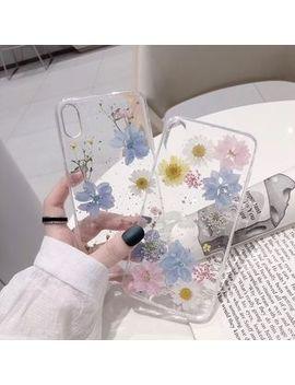 Vachie   Floral Phone Case   I Phone 6 / 6s / 6 Plus / 6s Plus / 7 / 7 Plus / 8 / 8 Plus / X / Xr / Xs / Xs Max by Vachie