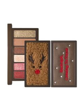 Etude House   Play Color Eyes Mini Palette Rudolph Holiday Edition   2 Types by Etude House