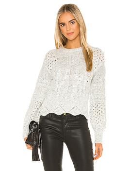 Scallop Sweater In Cream Multi by J.O.A.