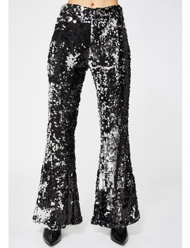 Show Stoppin' Sequin Flares by Dolls Kill
