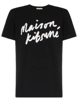 T Shirt à Logo by Maison Kitsuné
