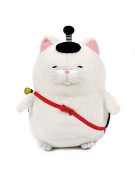 Amuse   Hige Manjyu Oedo Cat Plush Collection   Onigiri Samurai 37cm Big Plush by Amuse