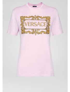 Logo T Shirt by Versace