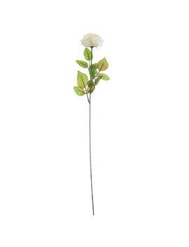 Cream Curled Rose Stem by Hobby Lobby