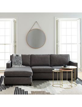 Henry® 2 Piece Chaise Sectional by West Elm